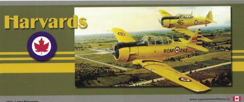 RCAF Harvard Magnet Sticker