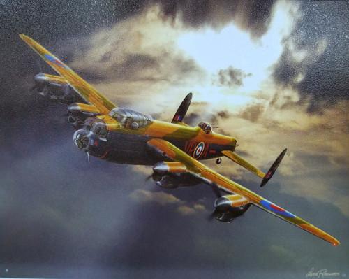 Avro Lancaster Tin Sign