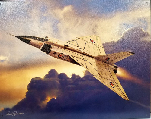 Avro Arrow Tin Sign