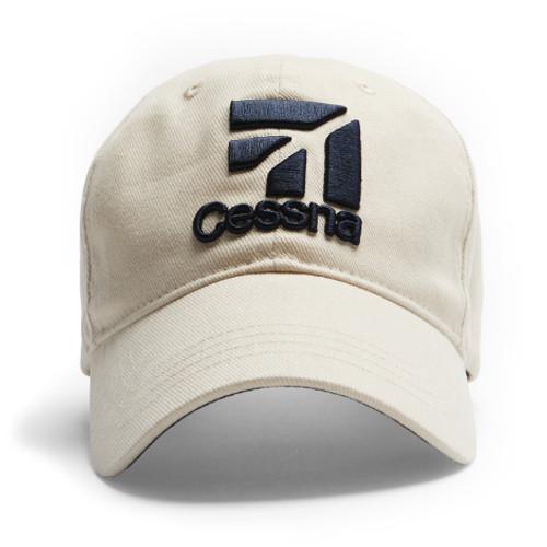 Cessna Logo Cap (Stone Colour)
