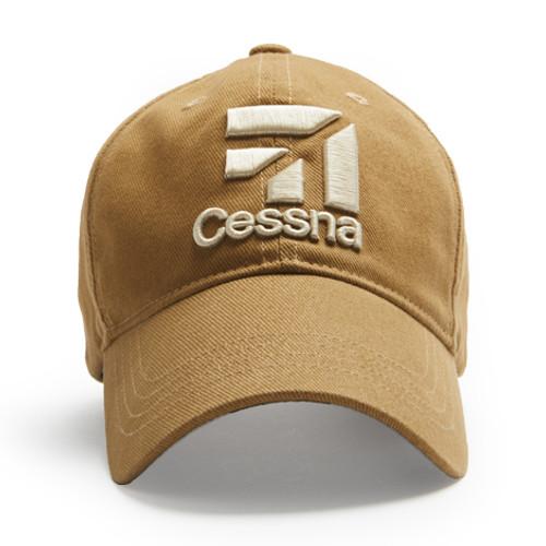 Cessna Logo Cap (Tan)