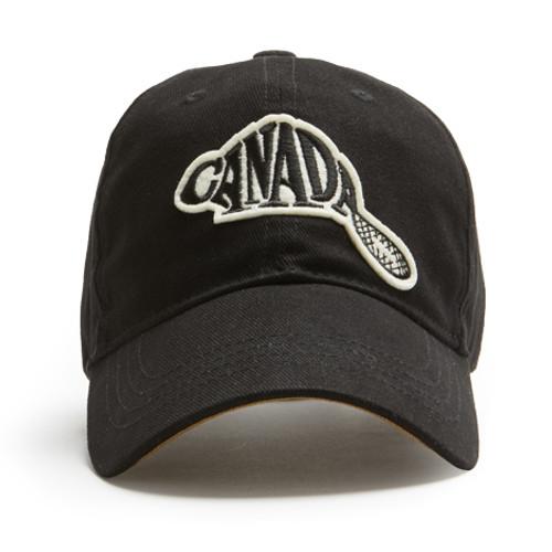 Canada Beaver Cap (Black)