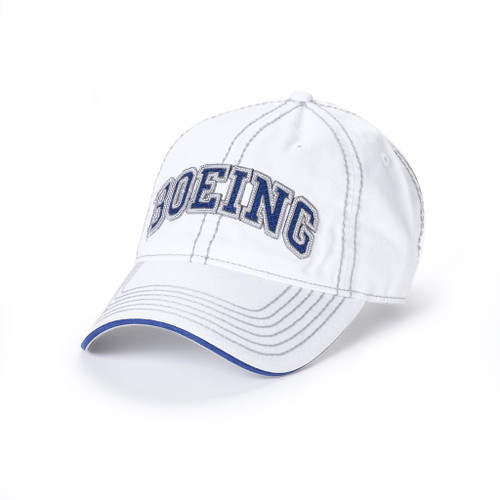 Boeing Varsity Heavy Stitch (White)