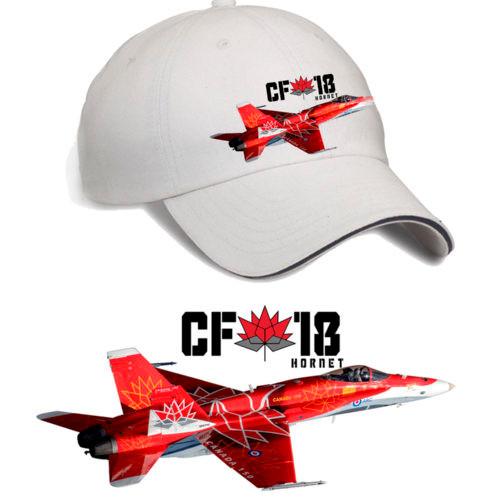 Canada 150 CF-18 Hornet Hat (Stone)