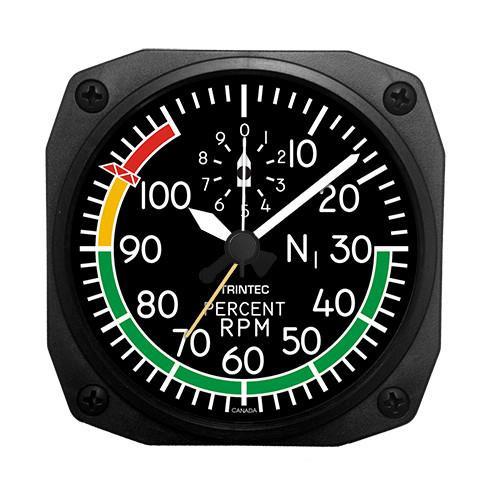 "3.5"" Modern RPM Indicator Alarm Clock"