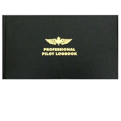 Professional Pilot Logbook - Black