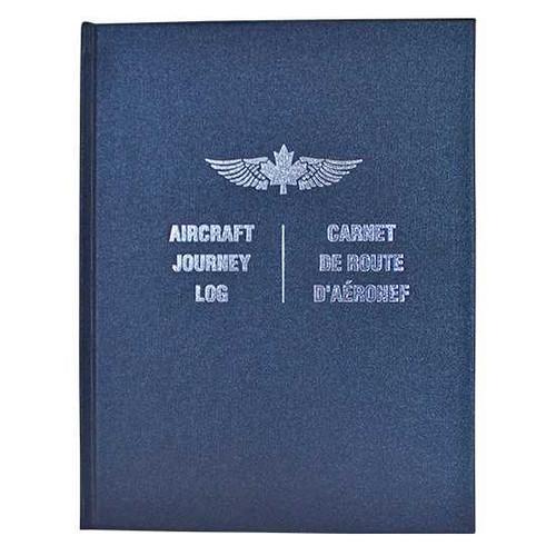 Journey Log: Hardcover, Navy Blue