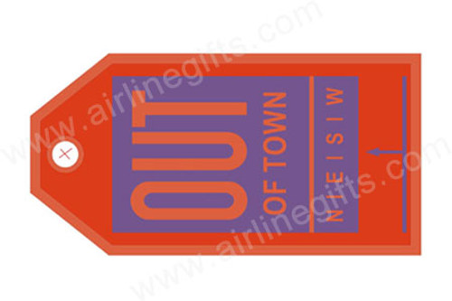 Out of Town Luggage Tag