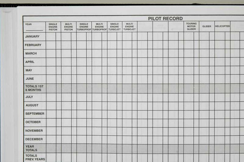 Professional European Pilot Logbook