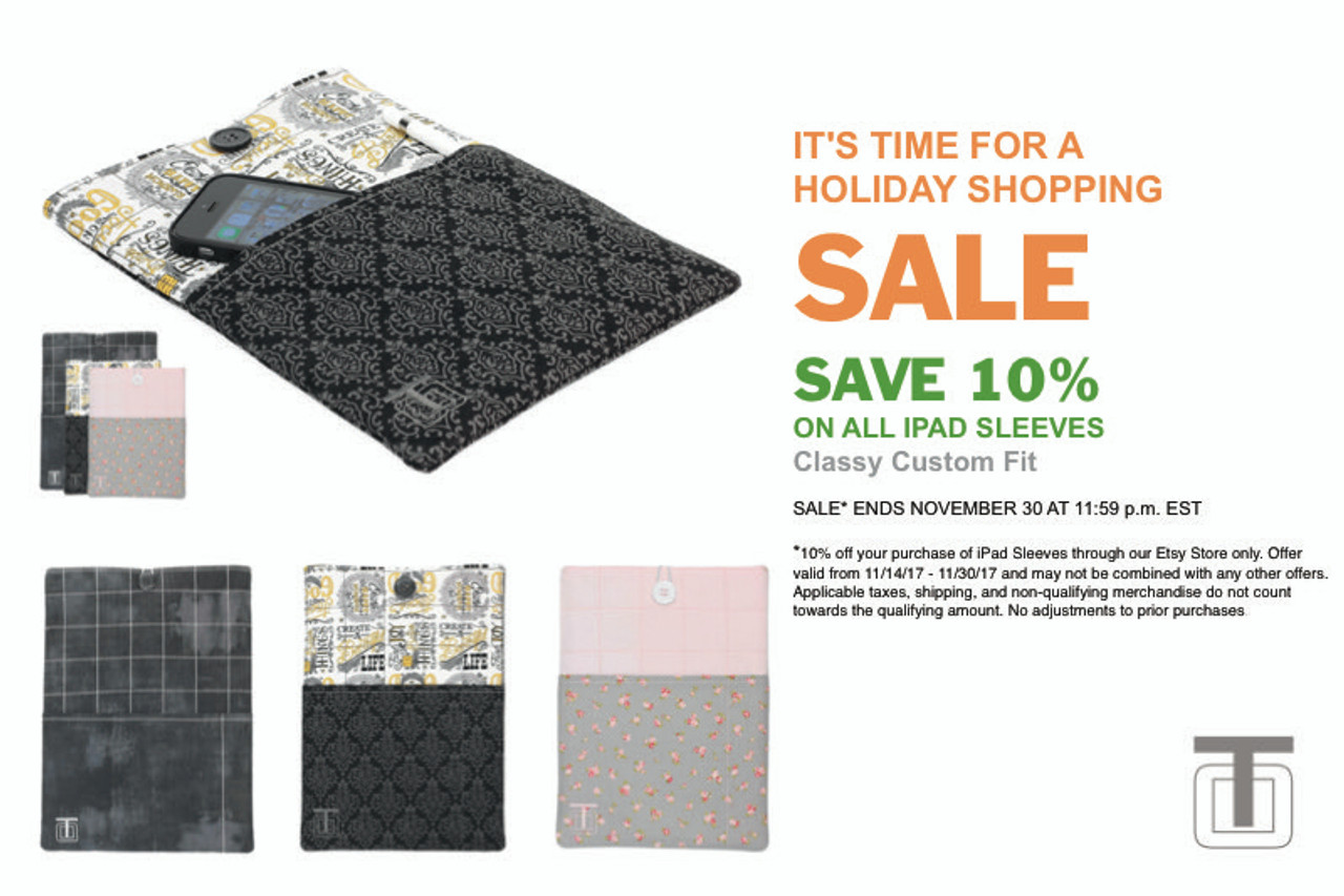 Holiday Shopping Sale!
