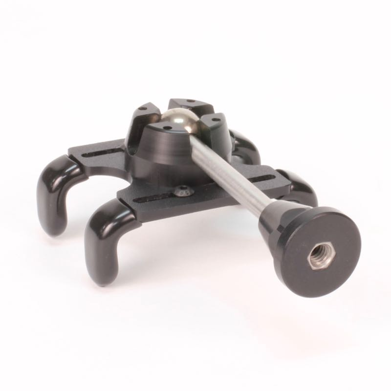 iPhone tripod mount adaptor - Work with all standard tripods (1/4-20 thread)