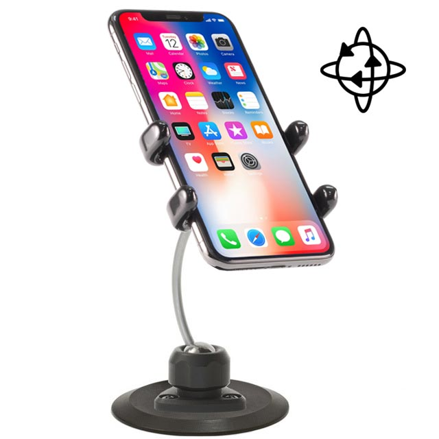 iPhone Car Mount for X, 8, 7, 6, SE and all Plus sizes