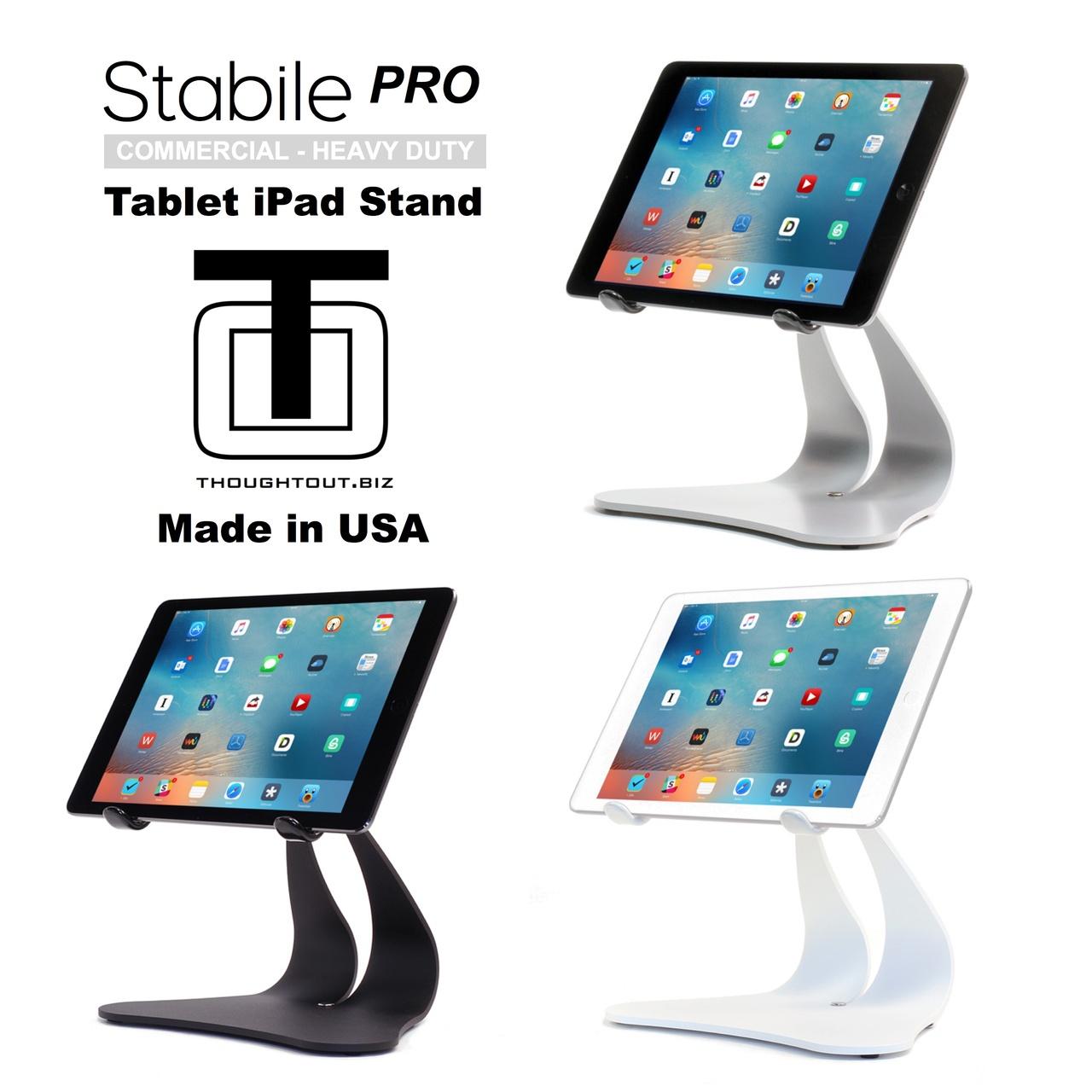 Stabile PRO - Silver, Black & White