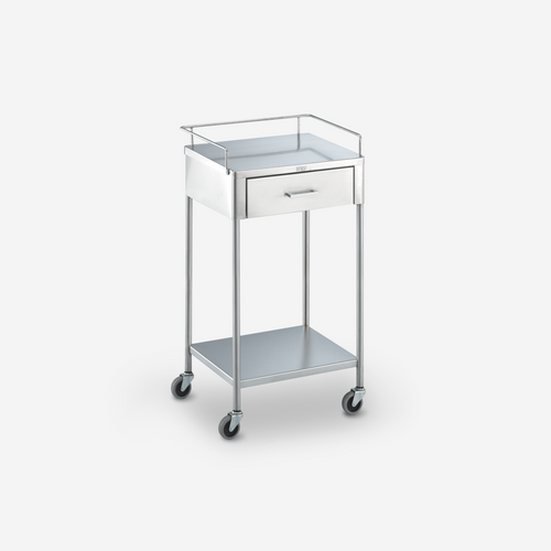 UT - 2200 - 20 x 16 x 34 Stainless Steel Table/Prep Stand  w/ rails & 1 drawer