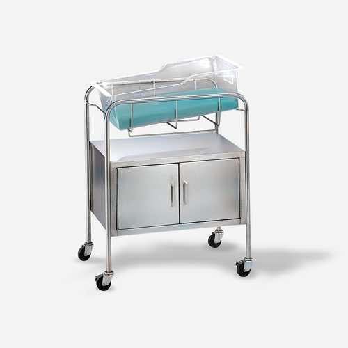 """BS-6460 - Coleman Model Bassinet w/ closed cabinet and 4"""" casters"""