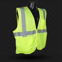 SV25 CLASS 2 Fire Retardant W/ Zipper Green 24ct case