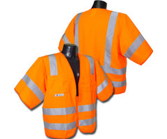 Class 3 Safety vest Orange 4X