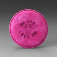 3M 2091 P100 FILTER FOR RESPIRATOR 6200 7502 6800 1 PR