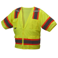 Pyramex Class 3 Two Tone Safety Vest  RVZ3410