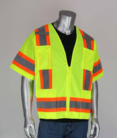 PIP Class 3 Two Tone Safety Vest  303-0500S XL