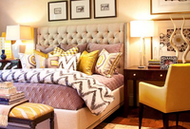 How to Display Your Bedroom Pillows