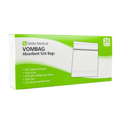 Vombag Absorbent Sick Bags x 20