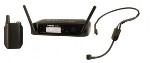Shure GLXD14/PGA31 Headworn Wireless System with PGA31 Headset Microphone
