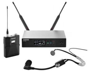 Shure QLXD14/SM35 digital wireless headset microphone system