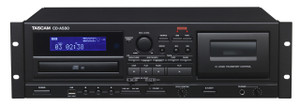 Tascam CDA580 Rackmount Cassette to MP3 Combo Recorder with Unbalanced RCA