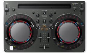 Pioneer DDJWEGO4K Portable DJ Controller - iOS Compatible, Black