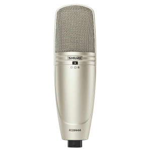Shure KSM44A/SL Multi-Pattern Large Dual Diaphragm Side-Address Condenser Microphone