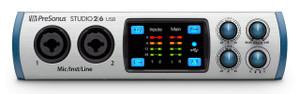 PreSonus Studio 26 2x4 USB 2.0 Audio/MIDI Interface