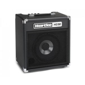 "Hartke	HD50 50W 1x10"" Bass Combo Amplifier"