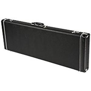 Fender099-6101-306 Hardshell Stratocaster®/Telecaster® Electric Guitar Case in Black