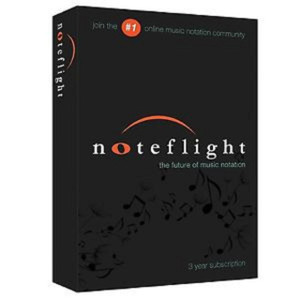 Noteflight 3-Year Subscription (Retail Box)  For Composers and Arrangers