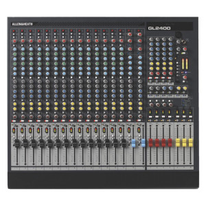 Allen and Heath GL2400-16 16-Channel Dual-Function Live Sound Mixer