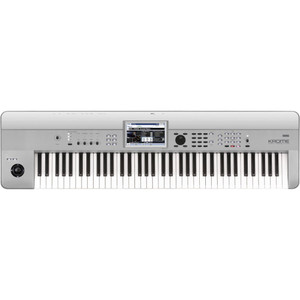 Korg Krome 73 73-Key Music Workstation Keyboard, Limited Platinum Edition