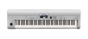 Korg Krome 88 88-Key Music Workstation Keyboard, Limited Platinum Edition