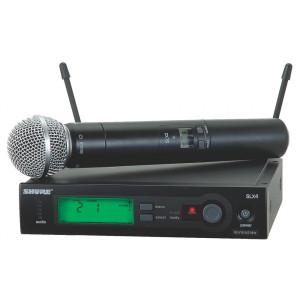 Shure SLX24/SM58 Handheld Wireless System with SM58 Mic