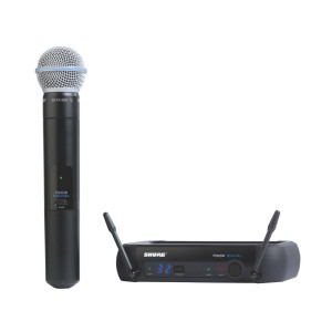 Shure PGXD24/BETA58 Digital Wireless Handheld System with Beta 58 Capsule