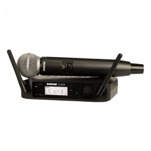 Shure GLXD24/SM58 Handheld Wireless System w/SM58 Mic