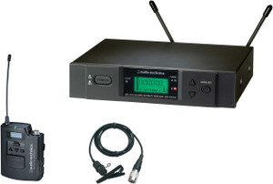 Audio Technica ATW3131BC wireless lavalier system