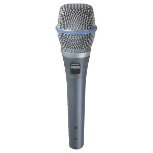 Shure BETA87C BETA Series Vocal Condenser Microphone (Cardioid)
