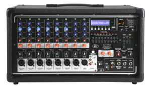Peavey PVi8500  8 channel  400W Powered Mixer with USB and Bluetooth