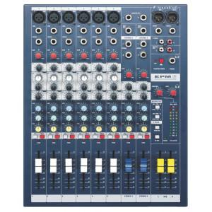 Soundcraft EPM6 6+2-Channel Mixer