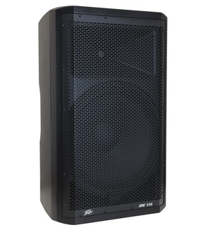 "Peavey	DM115 Dark Matter Series 15"" 2-Way Powered Loudspeaker with Onboard DSP"