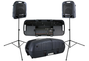 Peavey	Escort 5000	 2x 250W Portable PA with 8-Channel Mixer