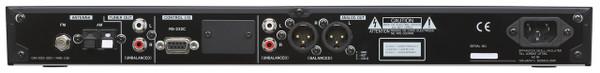 Tascam CD400U 1RU CD/Media Player with Bluetooth®, SD, USB, AM/FM Playback