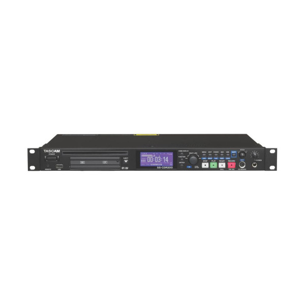 Tascam SSCDR250N Two-Channel Networking CD/Media Recorder