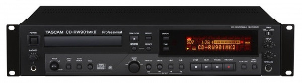 Tascam CDRW901MKII CD Recorder/Player